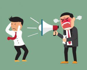 blaming feedback leadership communication