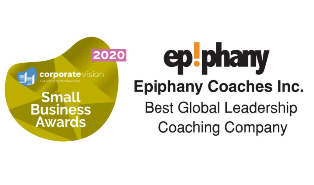 A business award for best coaching company 2020